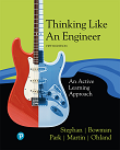 Thinking Like an Engineer: An Active Learning Approach, 4e