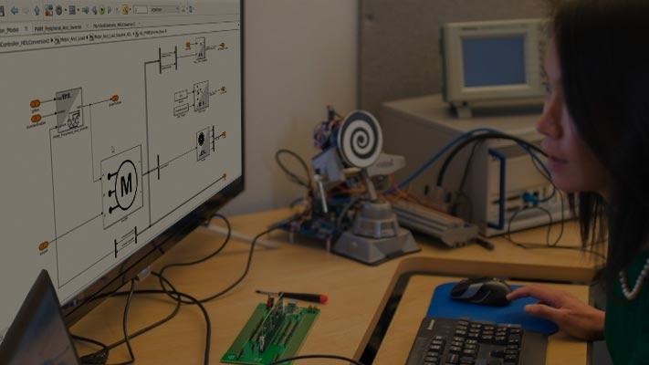 对电力电子器件控制设计进行硬件在环测试