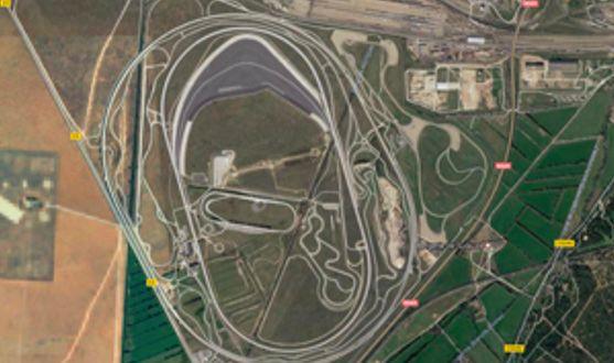 图 2。位于法国米拉马斯的宝马试验场。