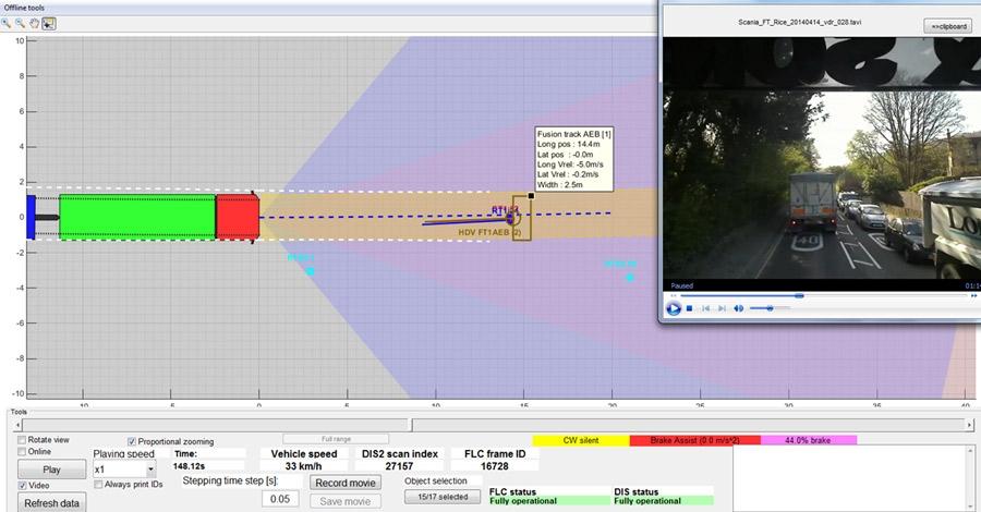 图 3。在 MATLAB 中开发的传感器可视化工具。