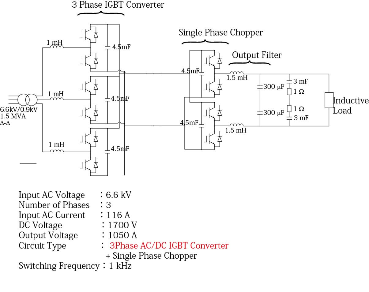 Figure 3. Schematic of the new electromagnet power supply unit.