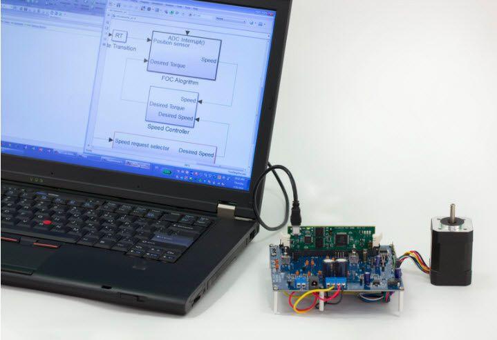 图6.嵌入式处理器PIL的示例。