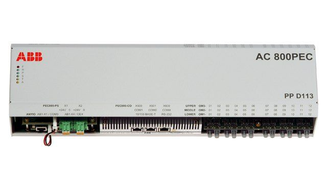 ABB 加速功率电子控制器的应用控制软件开发
