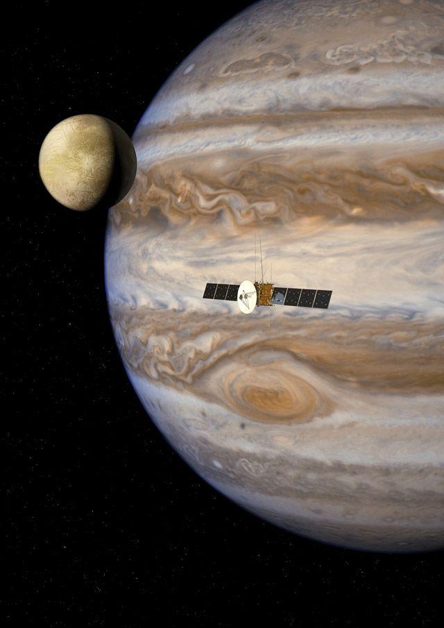 JUICE在 Jovian 系统中
