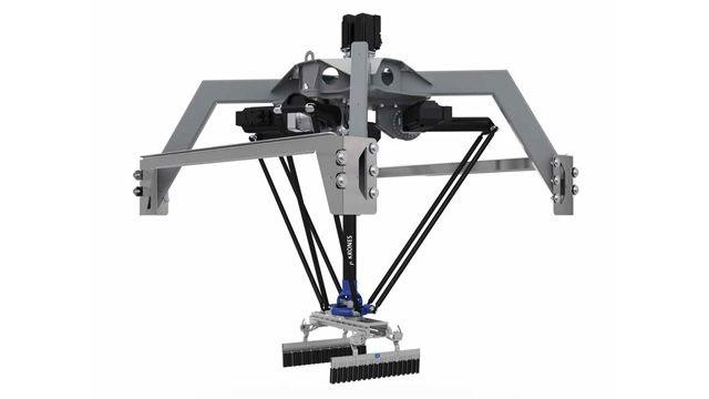 Krones 开发包裹搬运机器人数字孪生