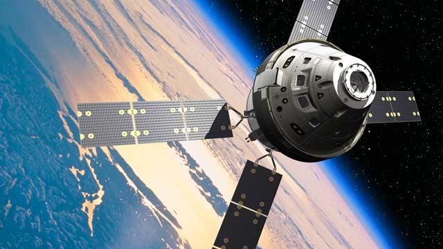 NASA的猎户座飞船.