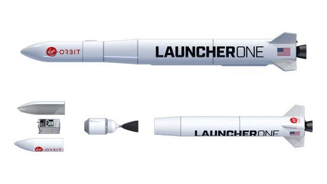 维珍轨道公司仿真LauncherOne火箭级间分离事件