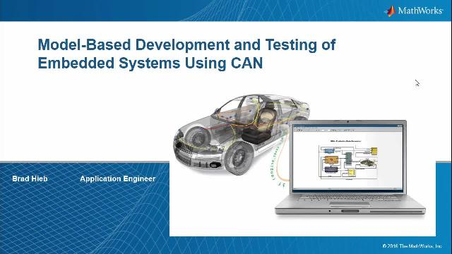In this webinar, we'll show how to build an application that can be used to test and debug an algorithm that is deployed on an ECU.   In our demonstration, we will build an application to debug a cruise control algorithm.
