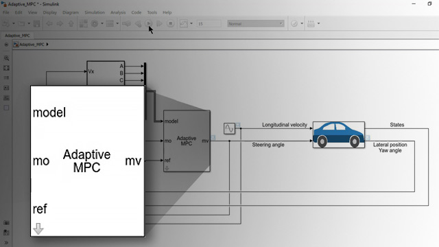 Learn how to deal with changing plant dynamics using adaptive MPC. This video uses an autonomous steering vehicle system example to demonstrate the controller's design.