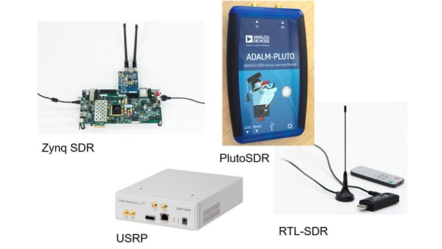 使用 Analog Devices AD936x SDR 传输 LTE 信号。