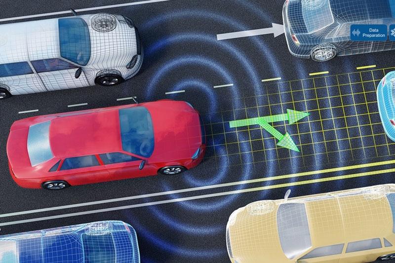 AI 技术用于自动驾驶场景。