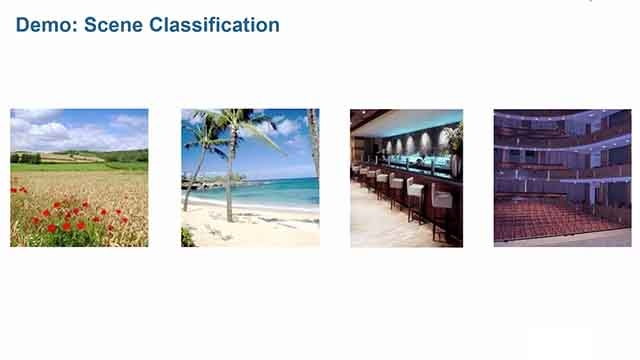 在 MATLAB 中使用机器学习技术并根据图像中的独特特征来识别场景。