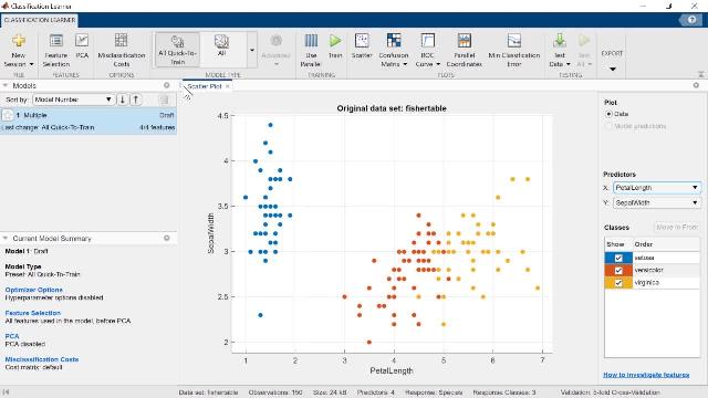 Get an overview of MATLAB apps, including how to find, create, and share apps.