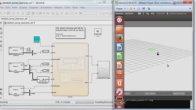Learn how you can use the algorithms and hardware connectivity in Robotics System Toolbox to develop autonomous mobile robotics applications.