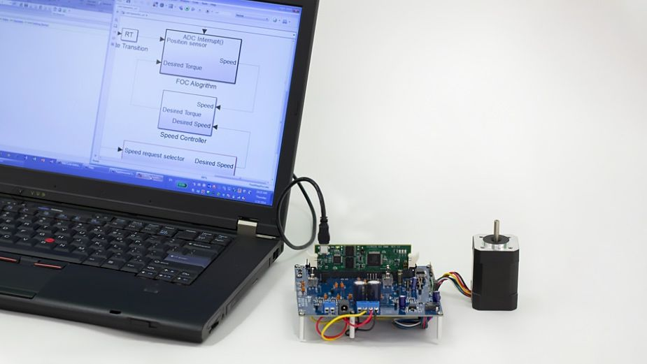 Using hardware support packages to quickly deploy generated code on embedded devices.