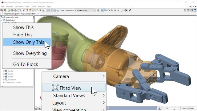 Explore Assembly in 3D Interface