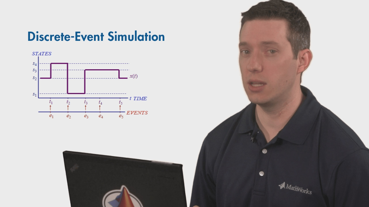 Learn how discrete-event simulation can help you solve problems related to scheduling, resource allocation, and capacity planning in this MATLAB Tech Talk by Will Campbell.