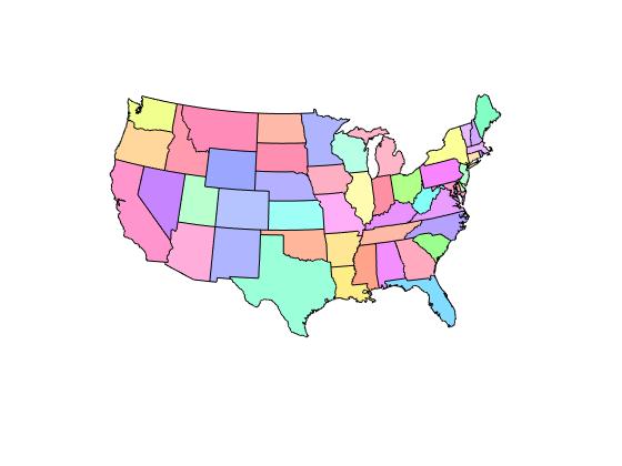 Conterminous united states