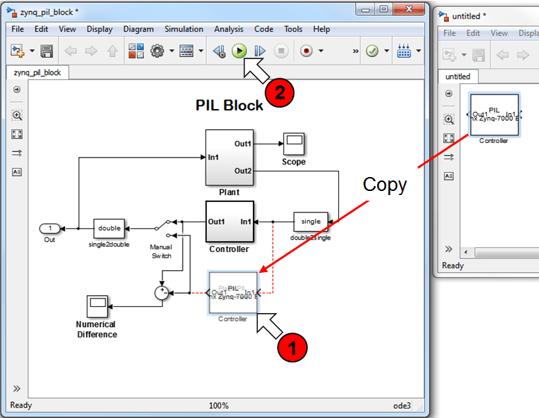 how to create a battery block in matlab simulink