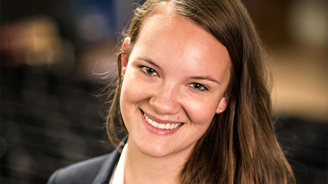 Emelie, Application Engineer, Kista