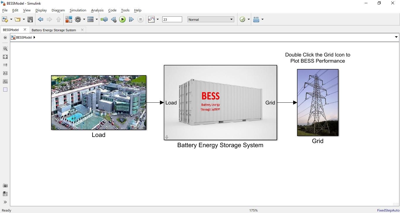 Battery Energy Storage System Model File Exchange Matlab Central