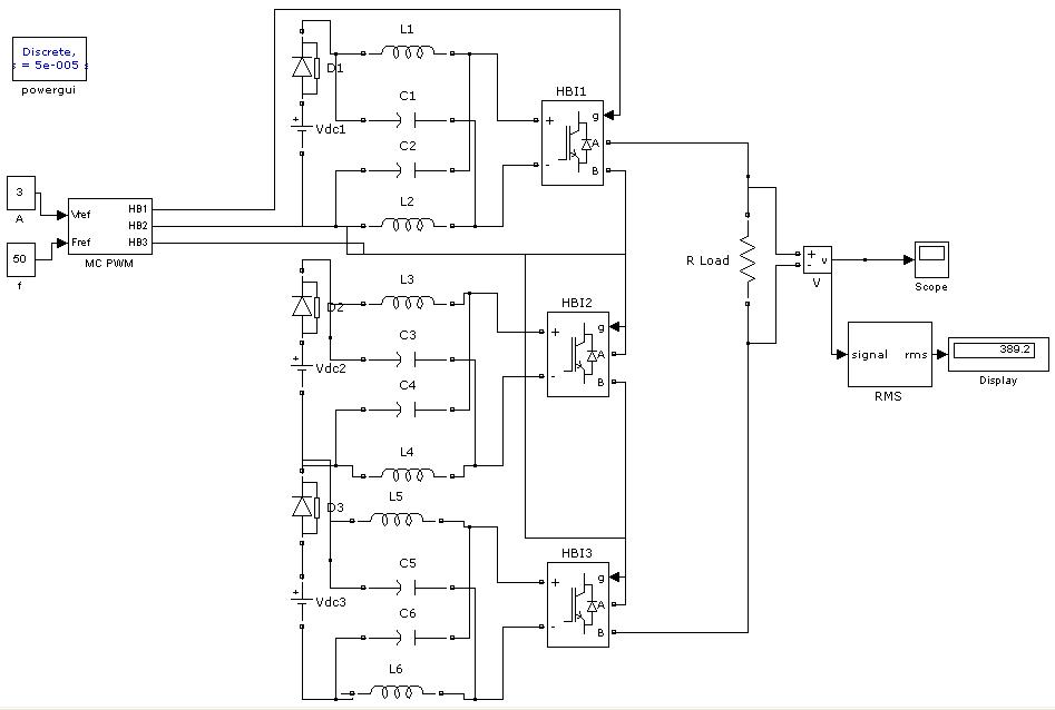 z source multi level inverter file exchange matlab central rh ww2 mathworks cn Solar Inverter Circuit Diagram Simple Inverter Circuit Diagram
