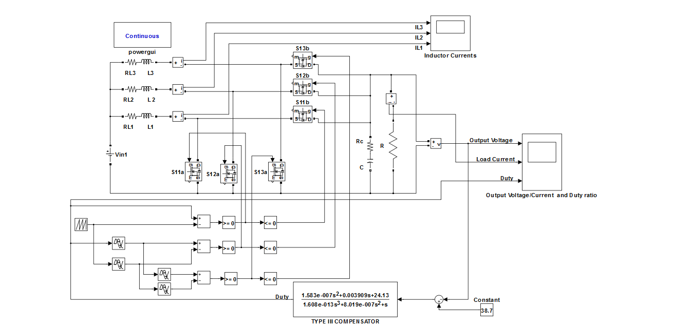Closed Loop Three Phase Boost Converter File Exchange Matlab Central