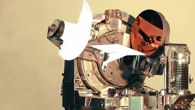 LOLA 是空中飞机和 Artemis 地球同步卫星之间的双向激光光学链路。