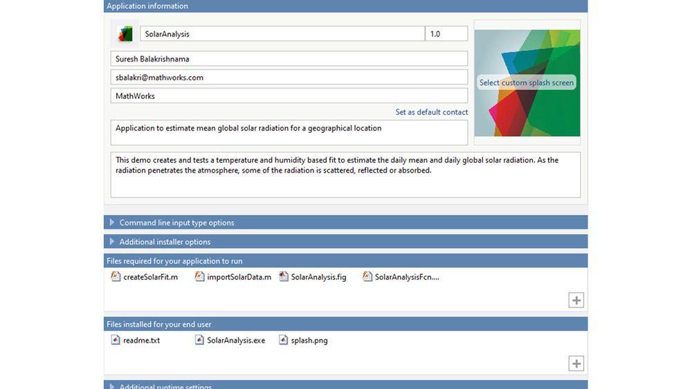 自定义您的应用程序安装程序,使之符合您的要求。
