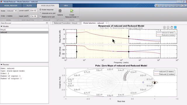 使用低阶线性模型来逼近非线性 Simulink 模型。