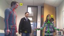 将图像和骨骼数据从 Microsoft Kinect For Windows 采集到 MATLAB 中。Kinect 是配有 RGB 相机、3-D 深度传感器和 4 通道麦克风的自然交互设备。