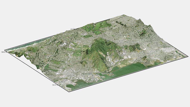 地形和高程分析