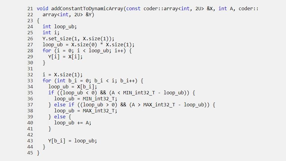 将动态分配的数组传递到生成的函数。