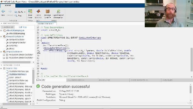 了解如何使用 MATLAB Coder 从 MATLAB 代码生成面向对象的 C++ 代码。相关特性包括 C++ 类和命名空间生成、异常安全性以及动态 C++ 数组。