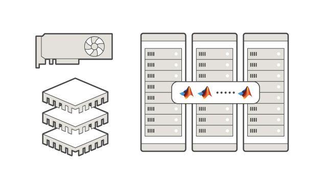 在多个计算机节点的 CPU 和 GPU 上执行。