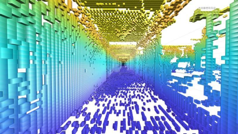 创建二维和三维占据栅格。