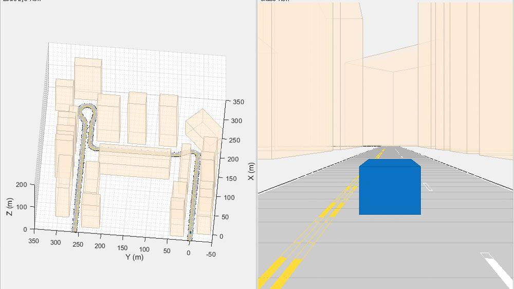 在 GPS 受限的环境中,使用视觉惯性测距法定位自主车辆。