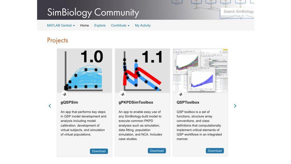 SimBiology 在线社区的用户自建工具。