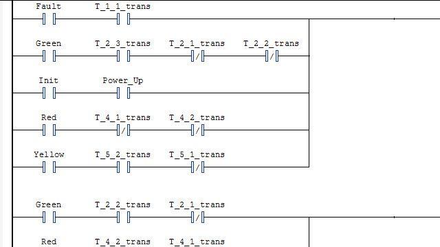 生成梯形图并将其导入 IDE。