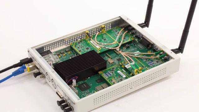 使用 USRP SDR 接收 802.11 OFDM 信标帧。