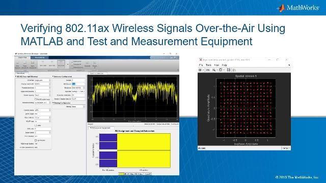 使用 MATLAB 和测试设备测试无线信号。要评估信号质量,我们会查看星座图并计算信号的误差向量幅度(或 EVM)。