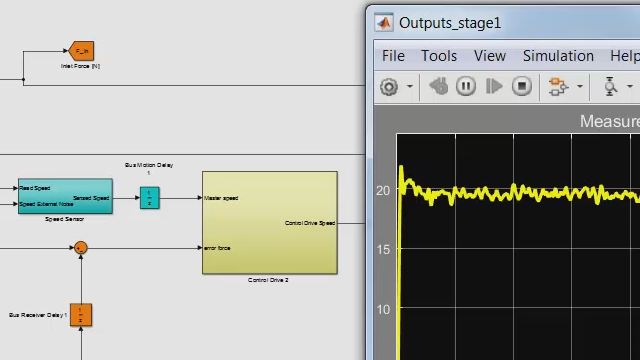 Virtual Commissioning with Simulink