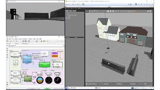 使用 Robotics System Toolbox、ROS Toolbox 和 Gazebo 仿真和验证自主算法