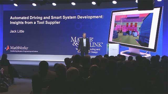 请听听 Jack Little(MathWorks 的总裁兼联合创始人)在 2018 年博世物联网大会 (Bosch Connected World) 上发表的演讲,关于开发高可靠性自主车辆系统的工具和流程。