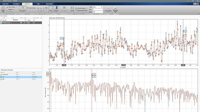 重新采样和过滤非均匀采样的信号