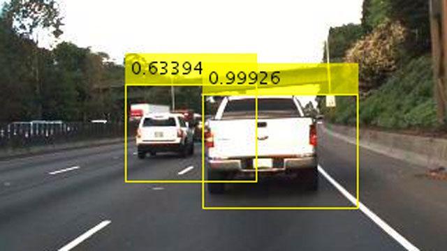 使用 Faster R-CNN 进行对象检测。