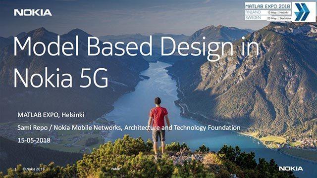 Nokia 5G 采用基于模型的设计