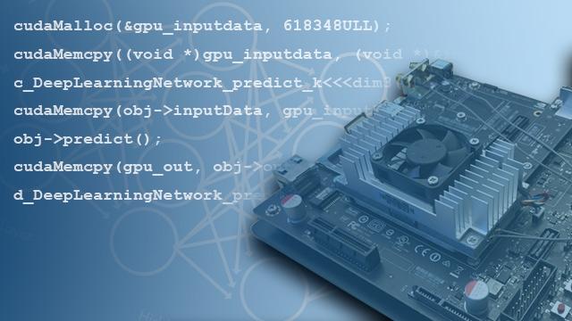 从 MATLAB 代码生成用于 NVIDIA GPU 的 CUDA 代码。