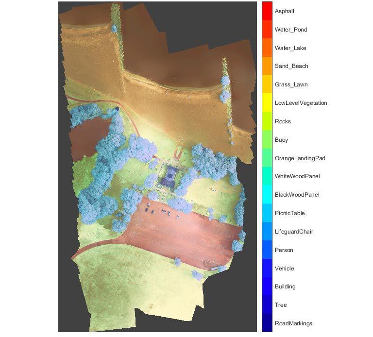 语义分割 -- 多谱段卫星图像
