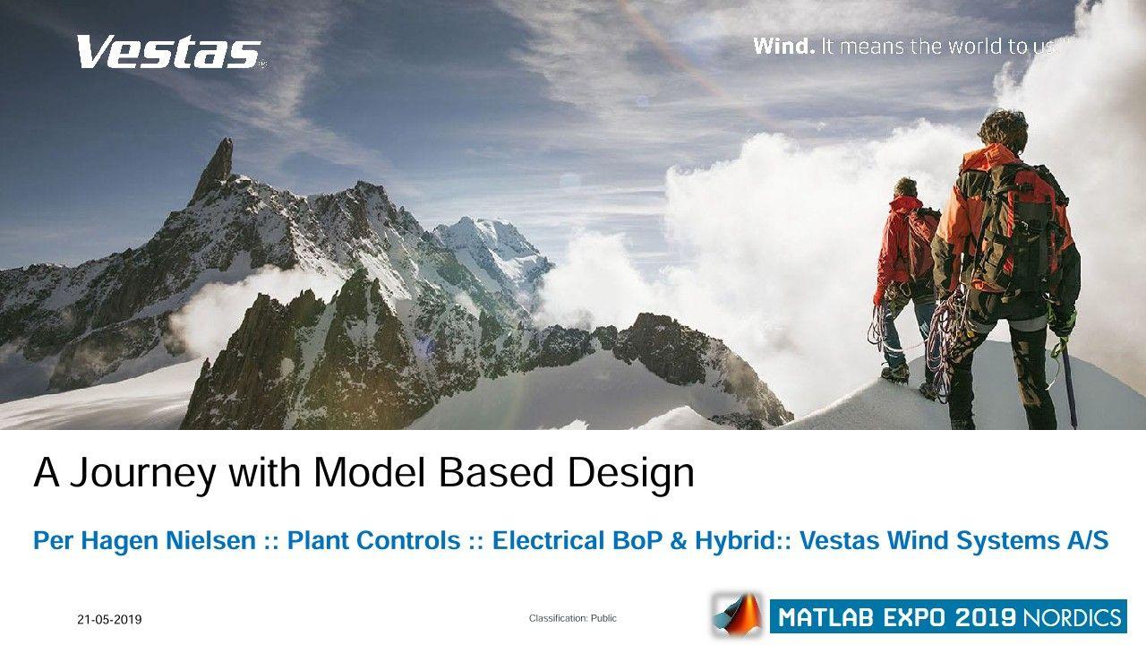 Vestas 混合发电厂解决方案:基于模型的设计历程